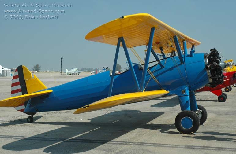 Boeing-Stearman PT-17 Kaydet, primary trainer  | Aircraft