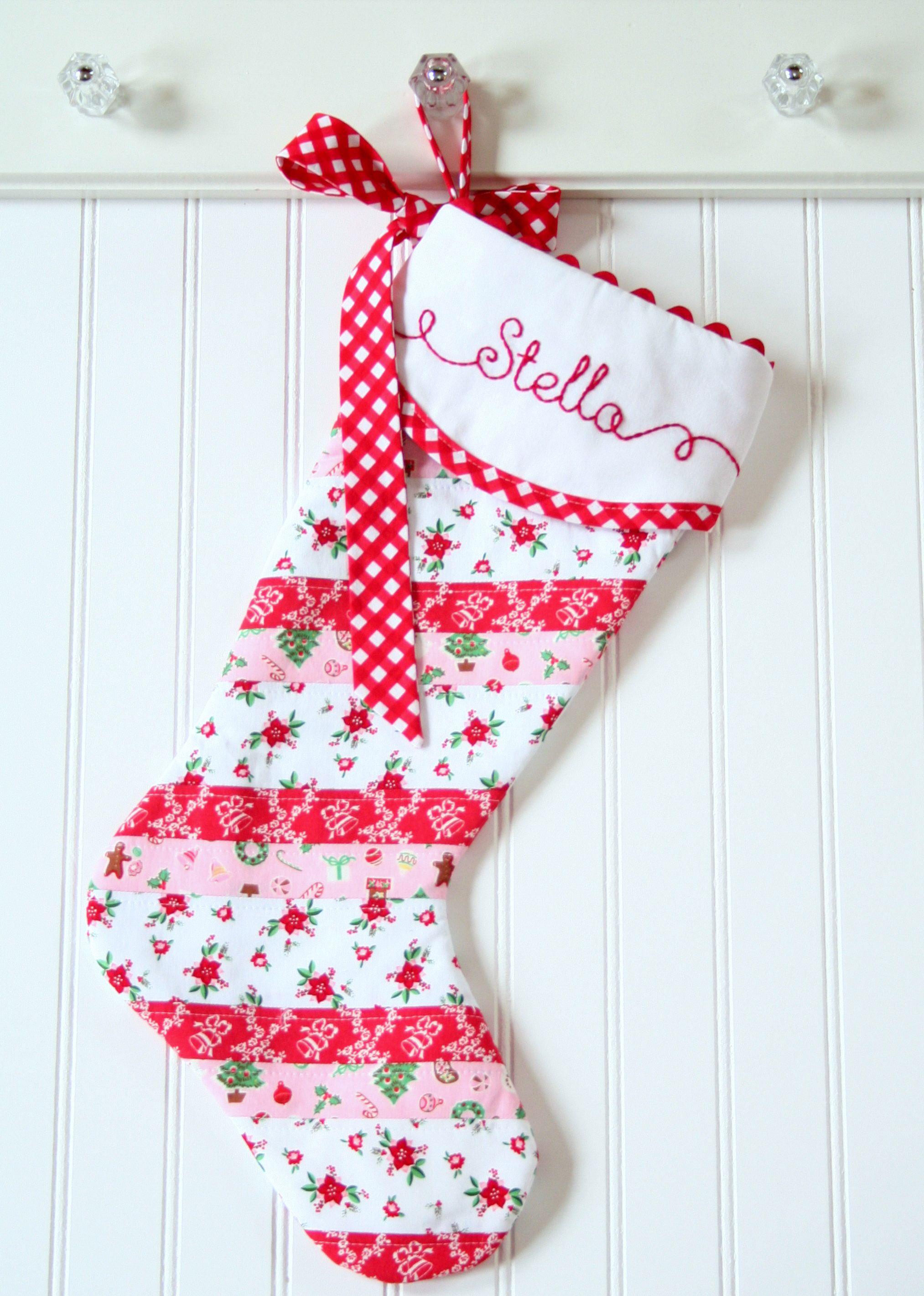 8600324509c Personalized Christmas Stocking