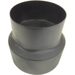 Ofenrohrerweiterung (Durchmesser: 120 mm - 130 mm, Gebläut, Schwarz) #eyeshadowlooks