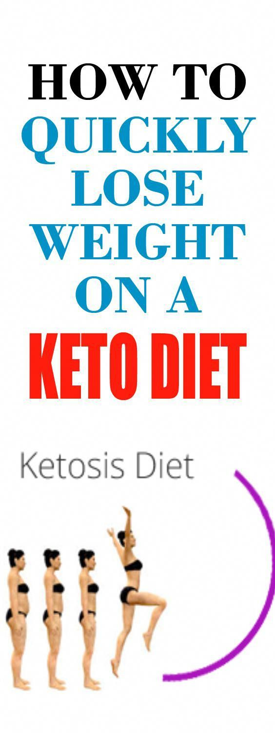 Quickly lose weight on a keto diet. The ketogenic diet can help you lose weight fast. Just follow a few #keto tips and you'll be losing weight in no time. #WeightLossExercise