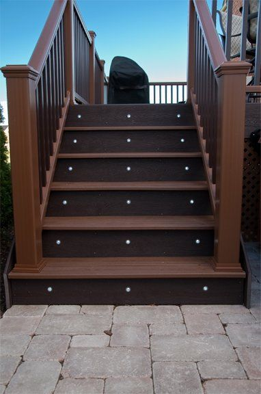 LED Stair Riser Lights.