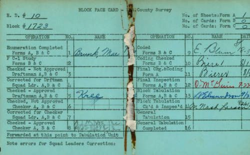 Pin On Wpa Household Census Cards