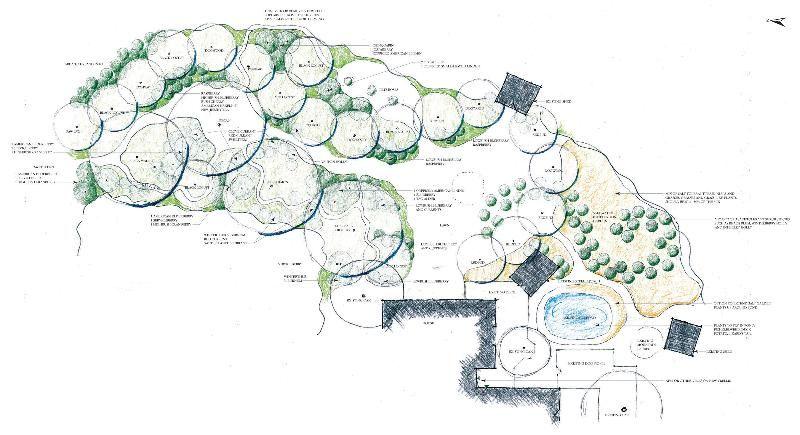 Residential Plan RENDERINGplan&elev Permaculture