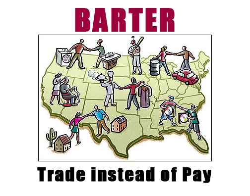 The Art Of Bartering Barter Goods And Services Emergency