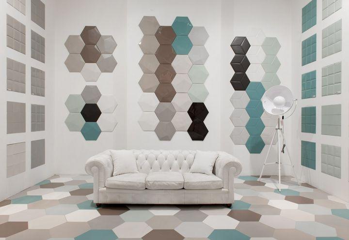 Cersaie 2014 gres porcellanato atelier tagina propone for Piastrelle da parete