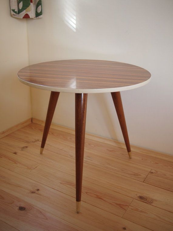 50er 60er Jahre Couchtisch Tisch Coffee Table Mid Century Formica Rockabilly In Antiquitten Kunst