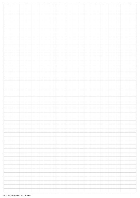 Printable Graph  Grid Paper Pdf Templates  Pdf And Template
