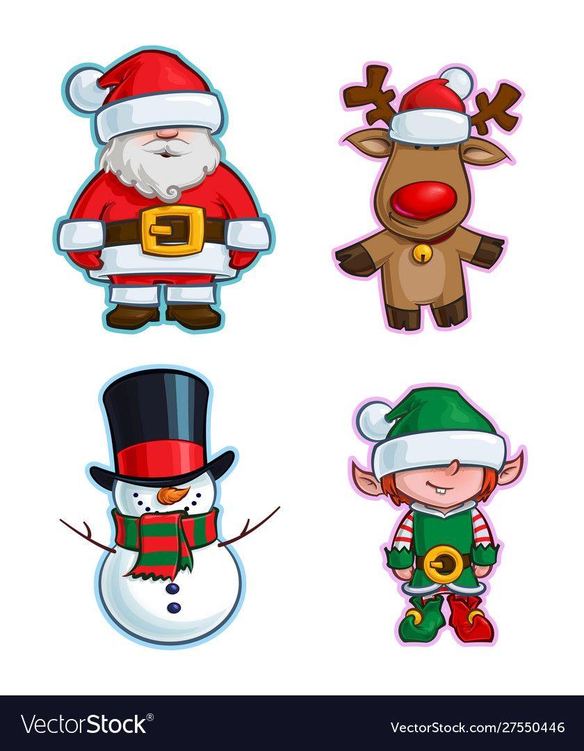 Santa Cartoons For Toddlers