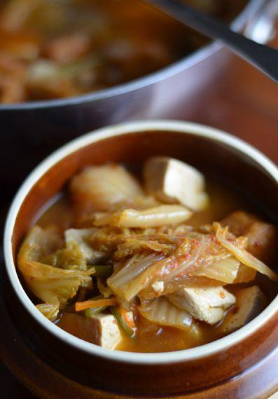 Kimchi Jigae | www.kimchimom.com #koreanfood