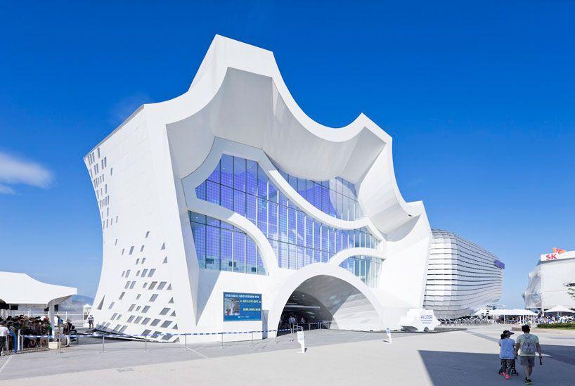 Unsangdong Architects Animate Hyundai Motors Group Pavilion Modern Architecture Amazing Architecture Architecture Design