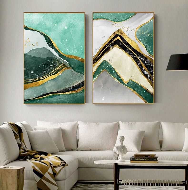 Pin On Abstract Wall Art #wall #art #contemporary #living #room