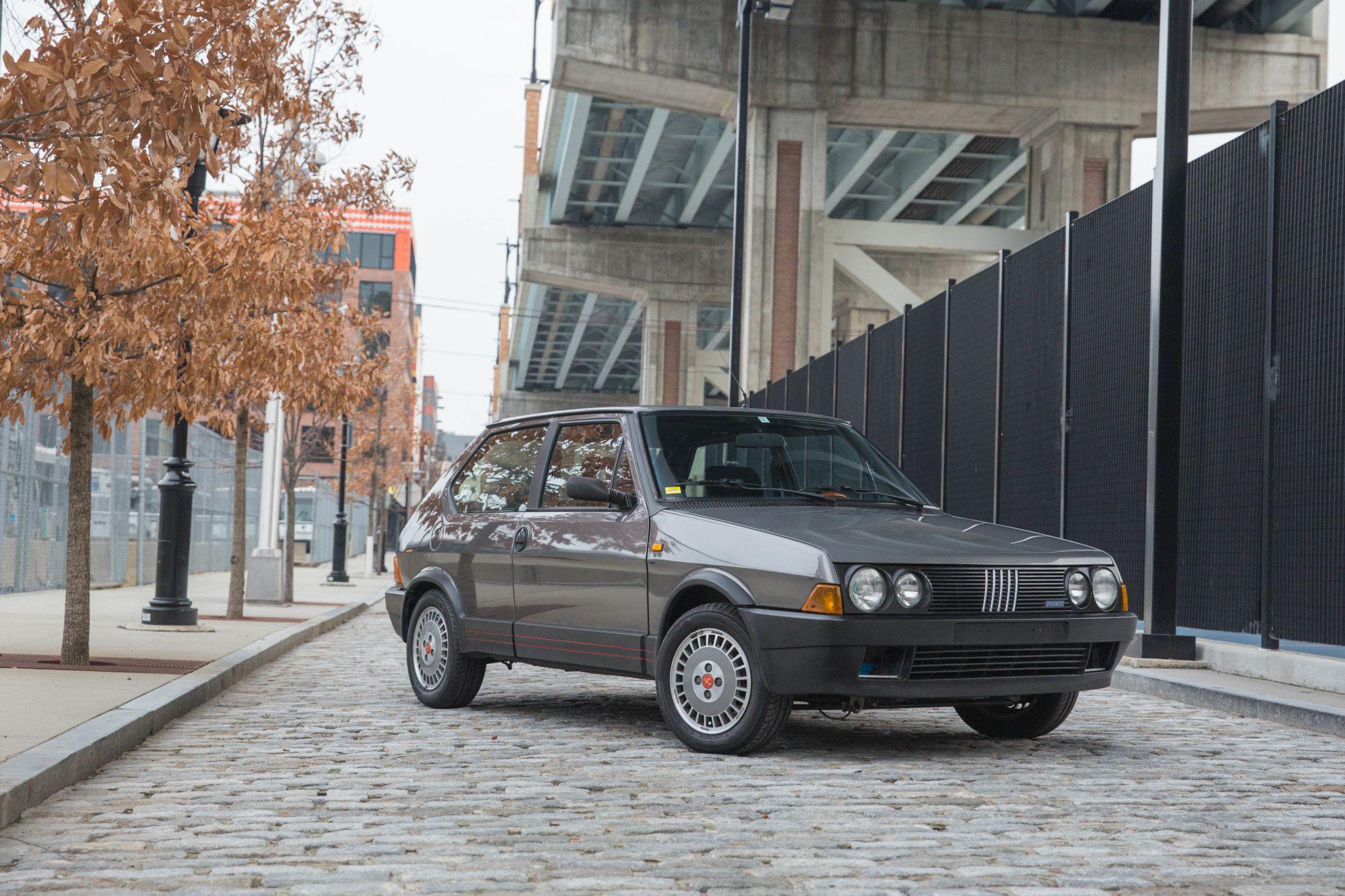 1987 fiat ritmo 130tc abarth fiat classic cars classic