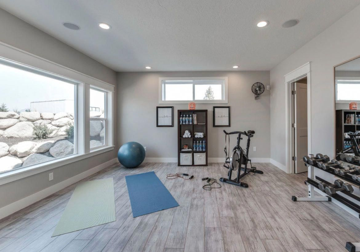 Best Home Gym Flooring Workout Room Flooring Options Sebring Design Build Besthomedesigns Gym Room At Home Workout Room Home Home Gym Flooring