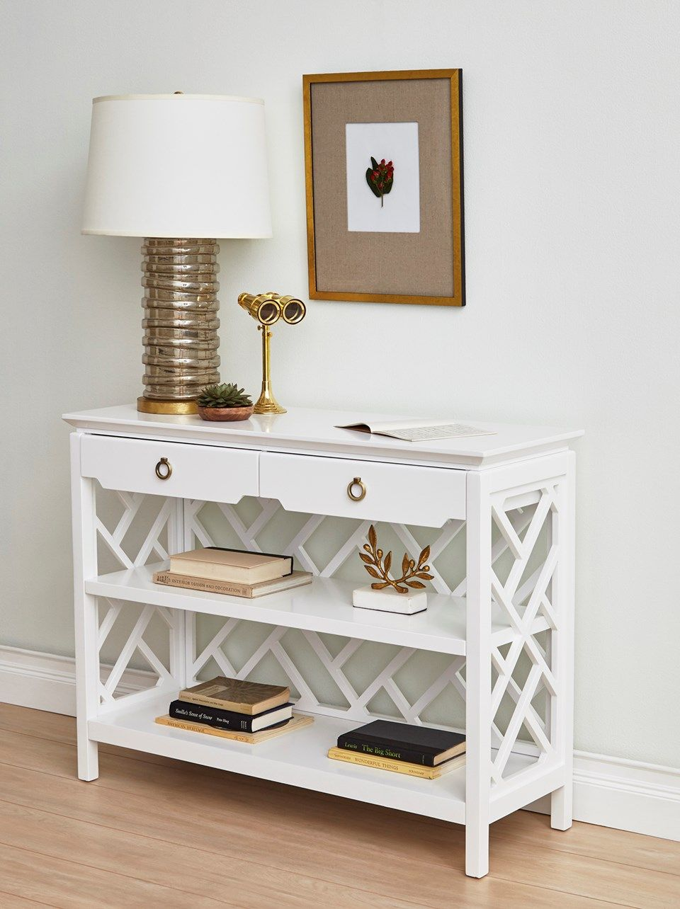 Nantucket Console Table, White   Bungalow 5