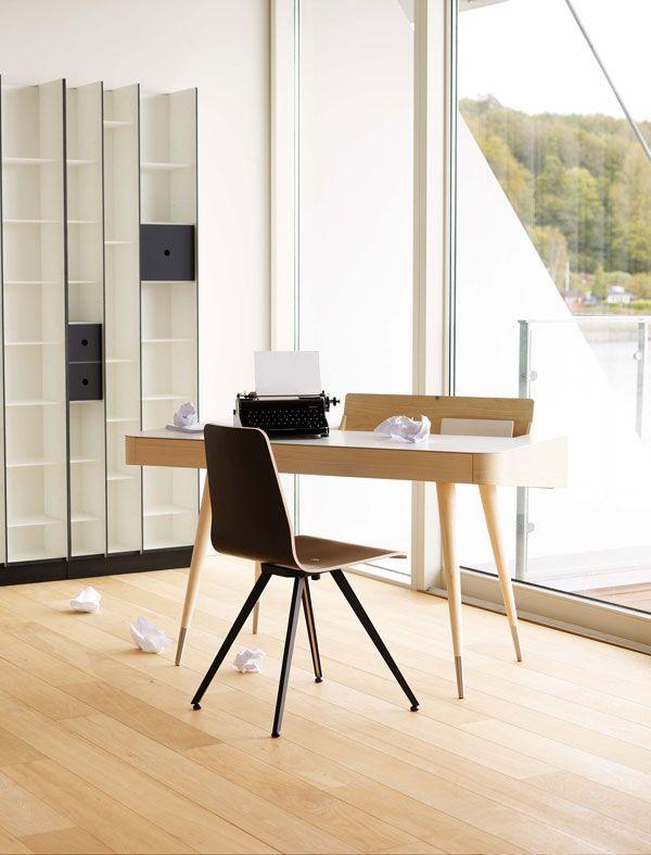 Bureau scandinave Point - Midiune - Mobilier industriel et vintage ...