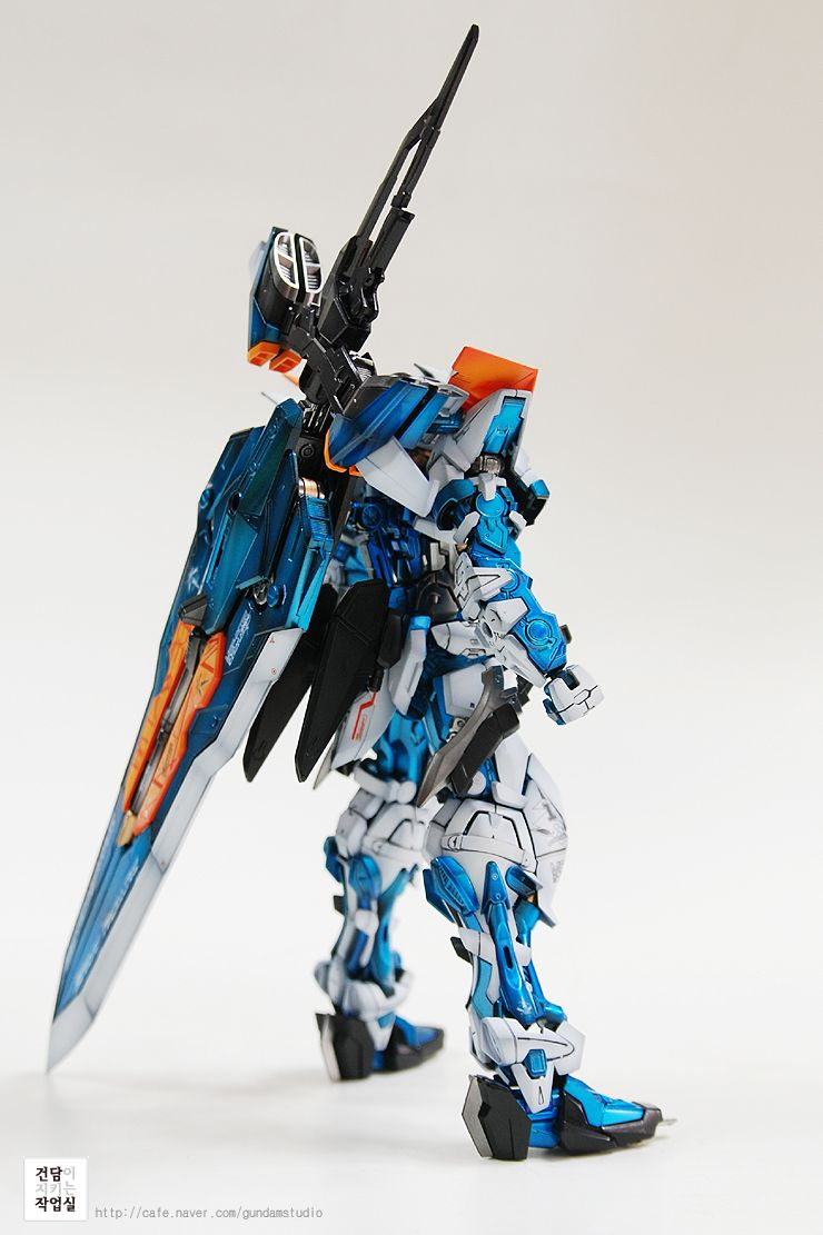 [MG] Astray blueframe Second revise by Smong guitar - Master modelers' community Signaturedition.com