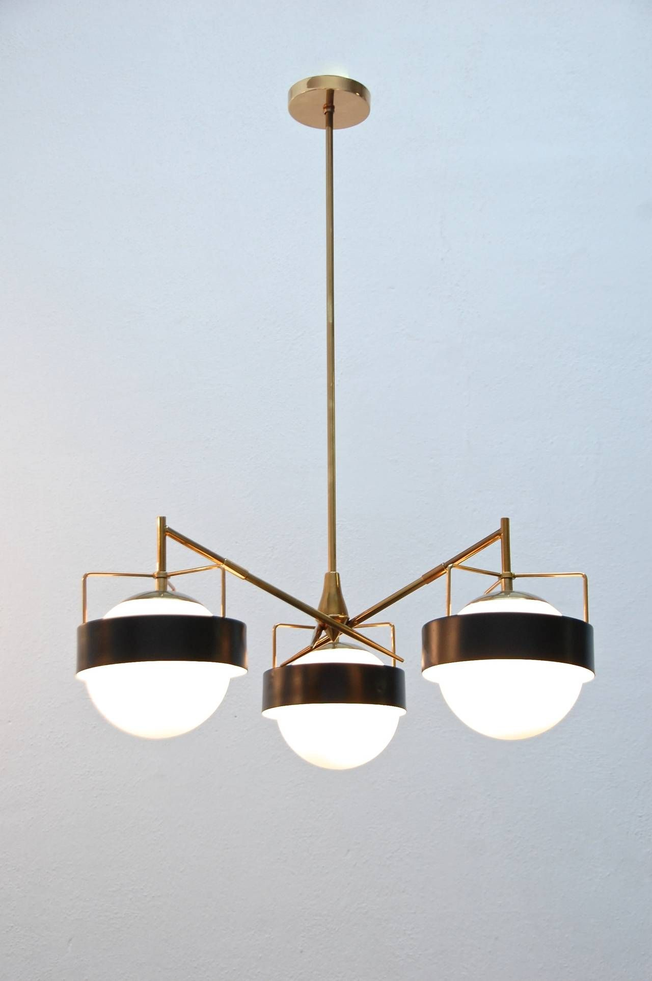 1950s Italian Saturn Chandelier Contemporary Lighting