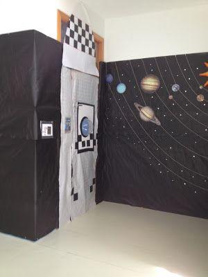 Decoraci n de puertas nave espacial proyecto el espacio for Puerta nave espacial