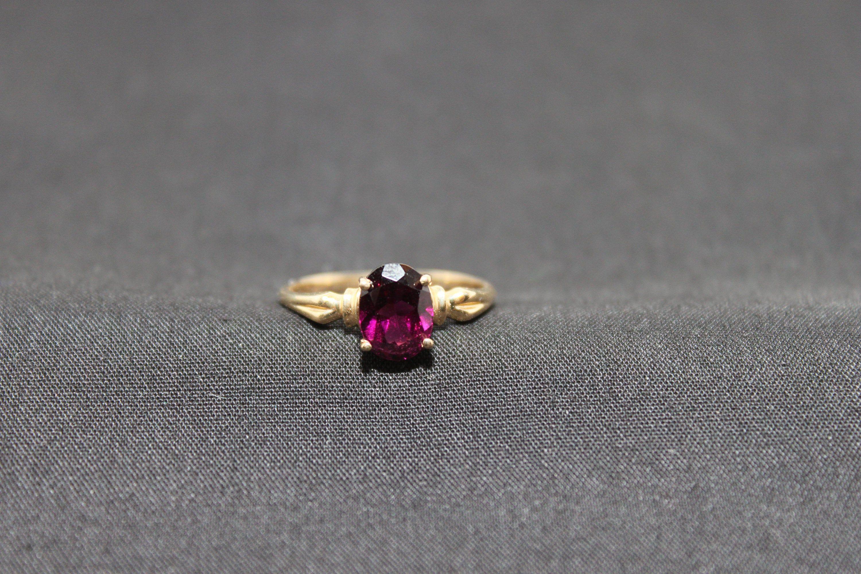 Pin On Garnet Rings