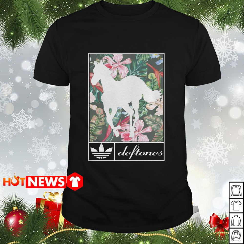 White Pony Deftones Adidas Shirt Adidas Shirt Sweaters For Women Trending Shirts [ 1000 x 1000 Pixel ]