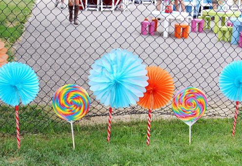 Image Detail For  Candyland Party Theme Decorations