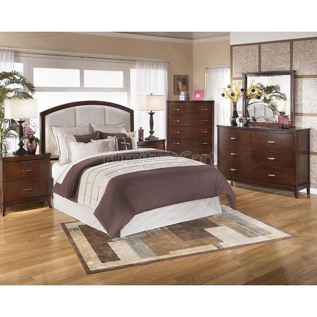 Ordinaire Lynx Upholstered Headboard Bedroom Set Signature Design By Ashley