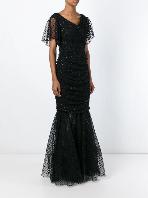 Dolce Gabbana Fish Tail Evening Dress