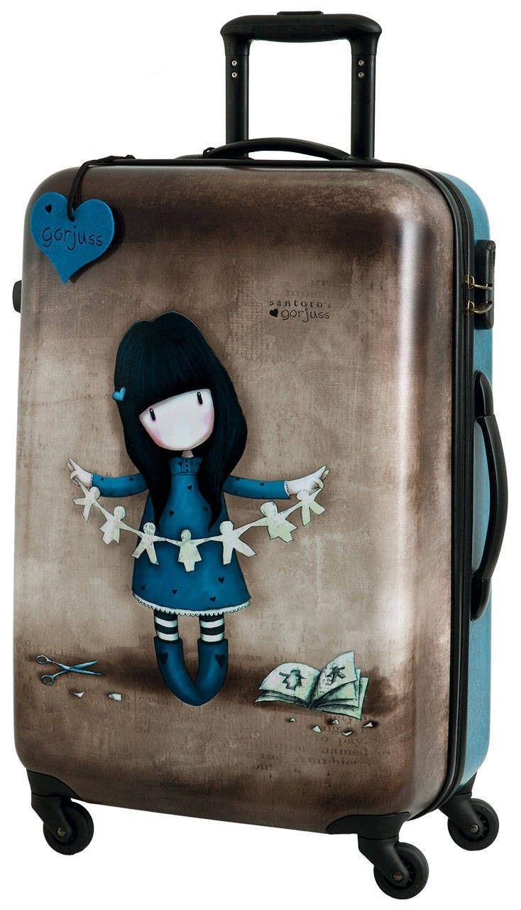 Maleta Gorjuss Mediana Trendy Travel Bags Suitcase Backpack Bag Suitcase
