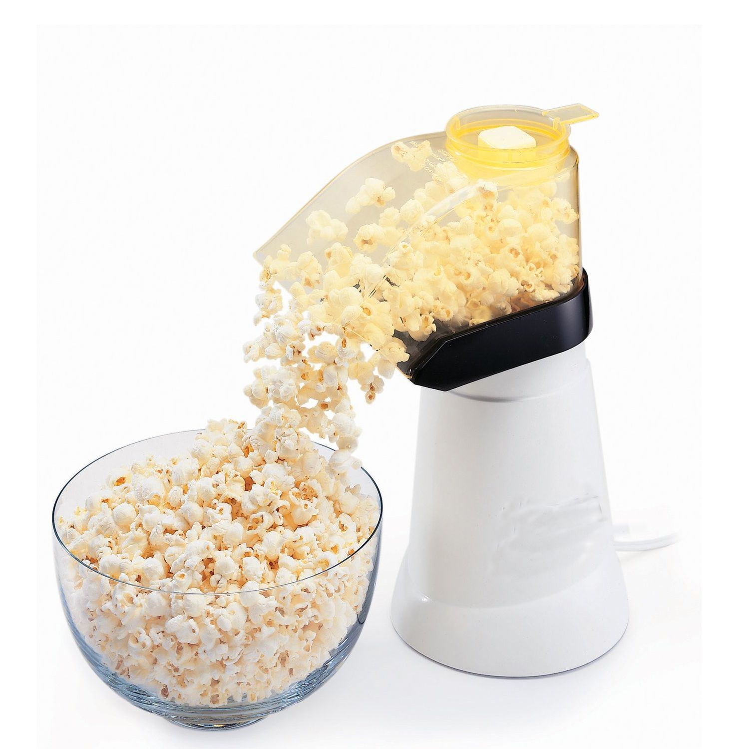 Popcorn Maker • Hot air corn popper makes up to 18 cups of