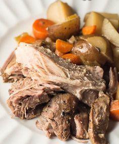 crockpot tenderloin with vegetables