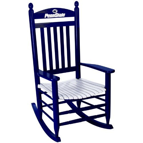 Merveilleux Penn State Nittany Lions Painted Wood Rocking Chair In Blue And White DCG  Stores Http://www.amazon.com/dp/B00H2WJ122/refu003dcm_sw_r_pi_dp_LO1Cvb1KMN8Z0