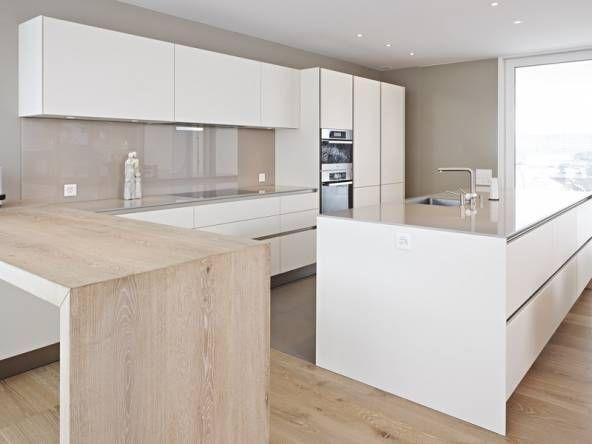 Die Küche Siematic S2 mit mit Lackfronten harmoniert mit dem - küche bei poco
