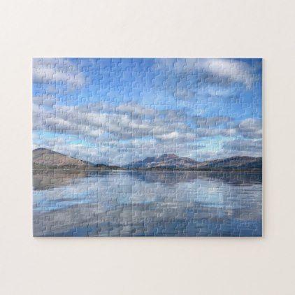 Jigsaws Loch Lomond Scotland. Jigsaw Puzzle | Zazzle.com #lochlomond