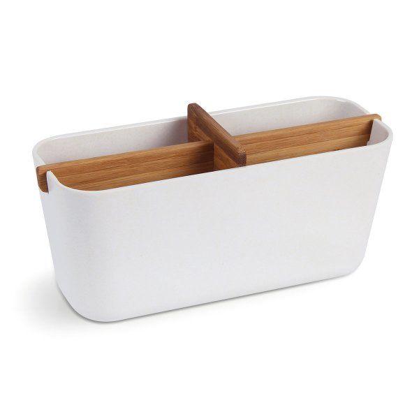 Lexon Sammelbehälter Zen Large Cup bambus weiß