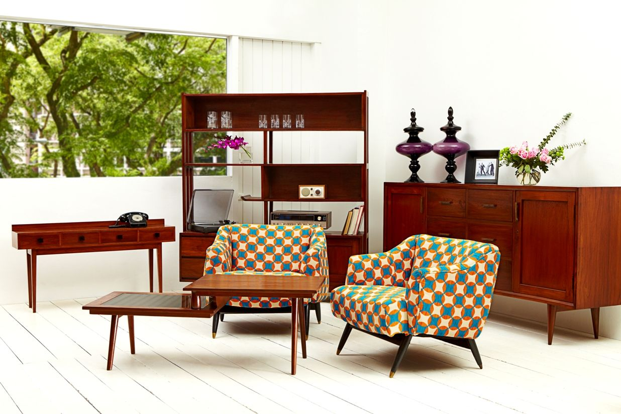 vintage retro recycled furniture