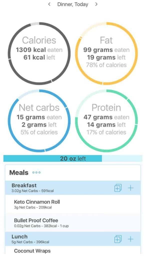 The Keto Diet Tracker low carb diet manager is one of the