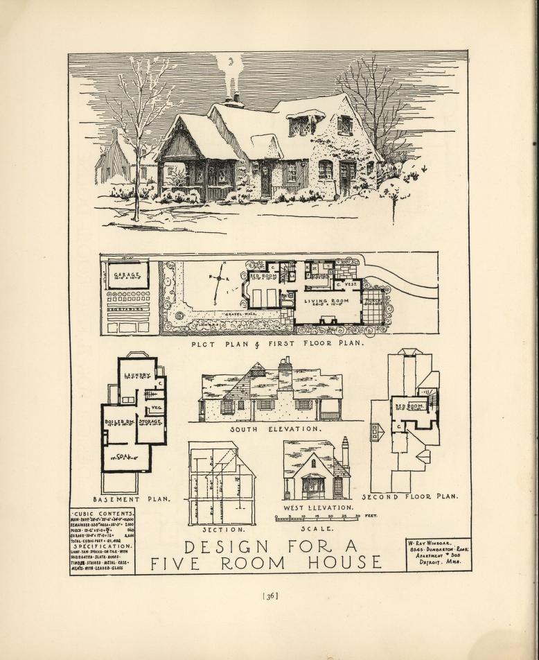 Chicago tribune book of homes*1927