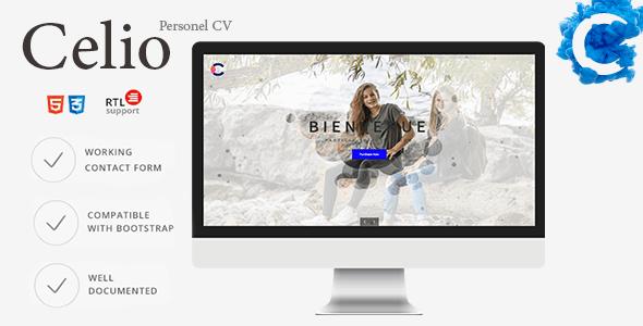 responsive cv  resume template