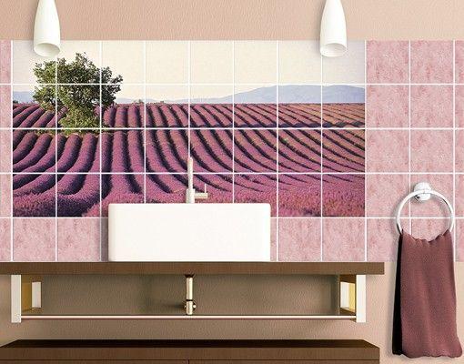 Fliesenbild Lavender Fliesenbilder Fliesenaufkleber Fliesen Sticker