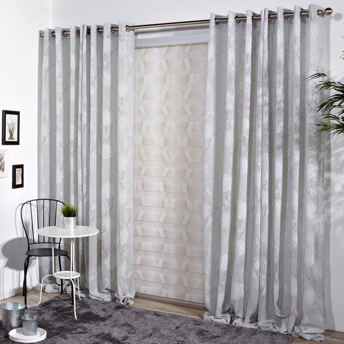 Cortina decorativa maracay cortinas confeccionadas cortinas cortinas - Visillos para salones ...