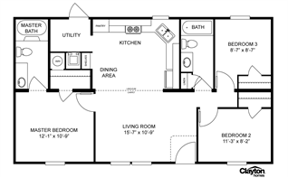 The simplicity of this floor plan but 1800 2000 sq ft for Stick built home plans