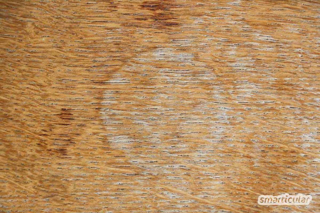Flecken Dellen Und Kratzer Von Holzfussboden Und Holzmobeln Entfernen Holz Holzboden Holzfussboden