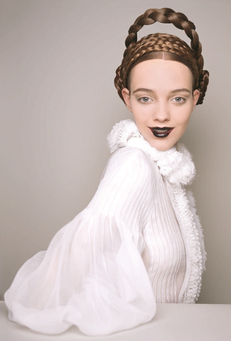 "Duchess Dior: ""Beauty Queens"" by Brigitte Niedermair for Harper's Bazaar UK May 2015"
