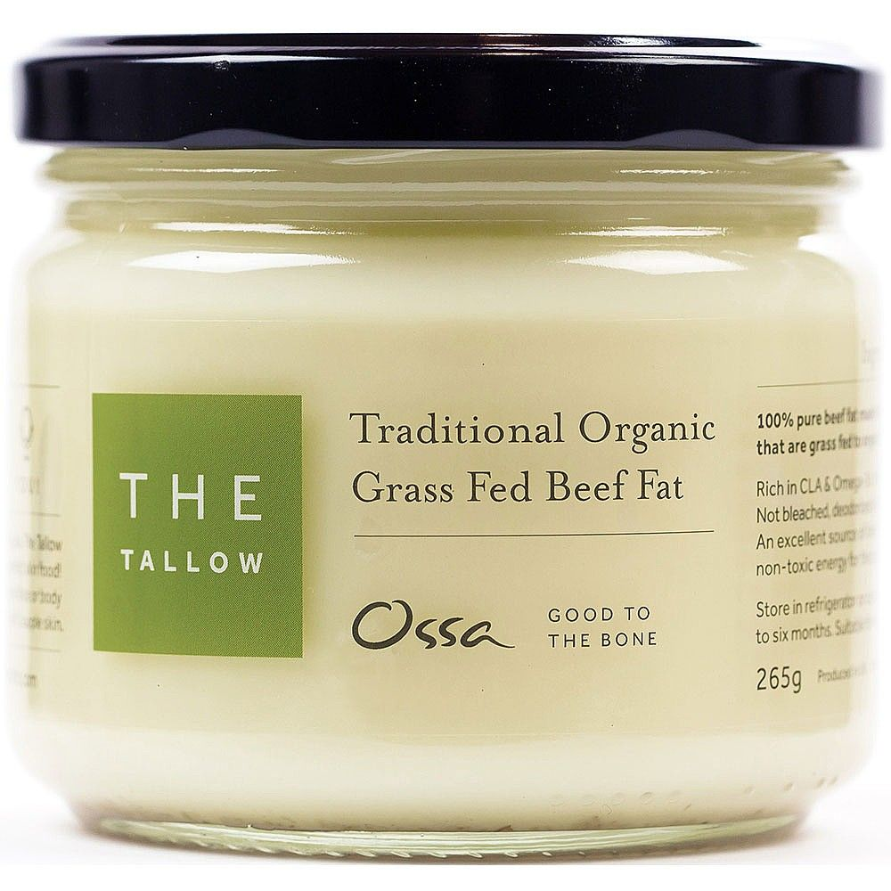 Ossa The Tallow 265g Pure Products Grass Fed Beef Beef