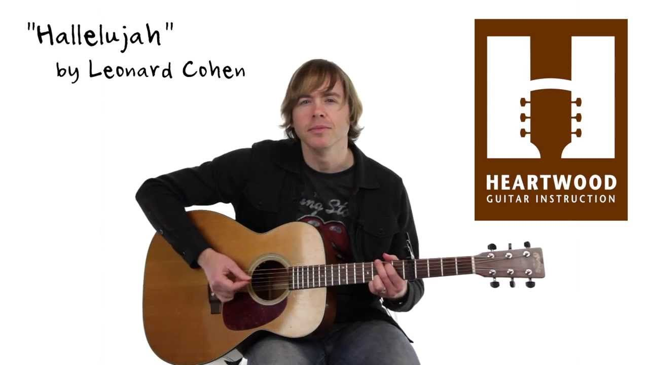 How To Play Hallelujah Jeff Buckley Leonard Cohen Easy Guitar