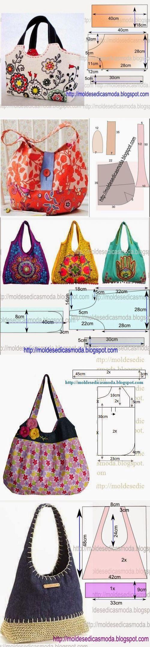 сумки | Bolsos, Costura y Bolsos de tela