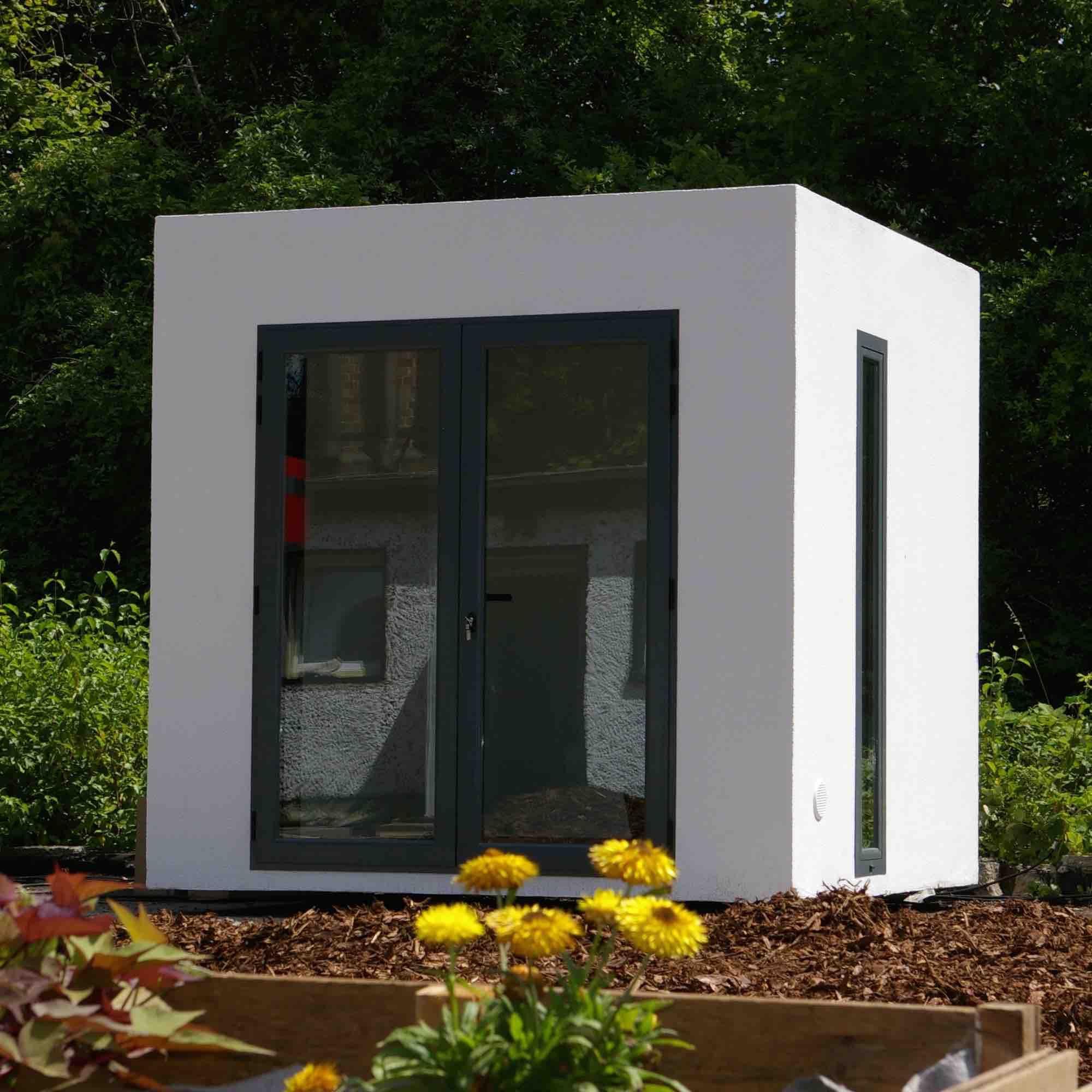 gartenhaus cube modern my blog. Black Bedroom Furniture Sets. Home Design Ideas