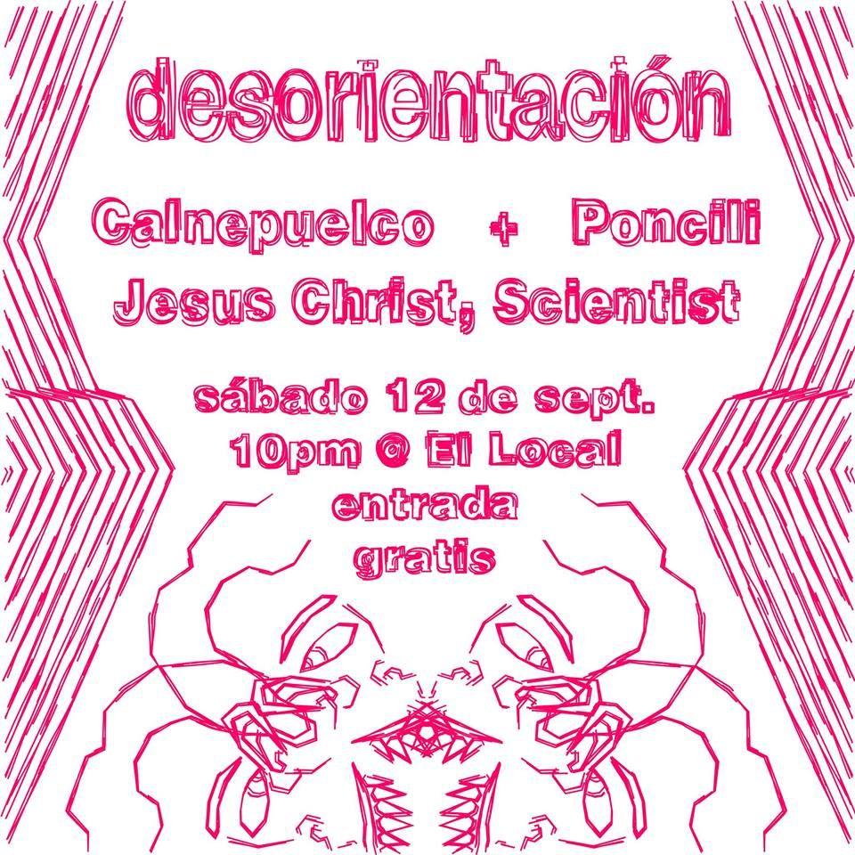 Desorientación: Calnepuelco, Poncili Creación, Jesus Christ, Scientist #sondeaquipr #ellocalensanturce #santurce #sanjuan #desorientacion #calnepuelco #poncili #jesuschrist #scientist