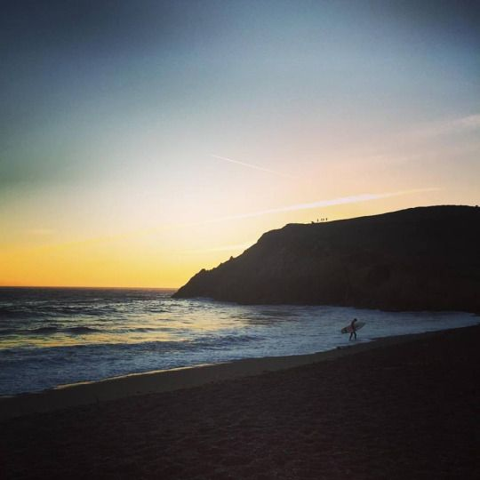 Last Surfer of the Evening