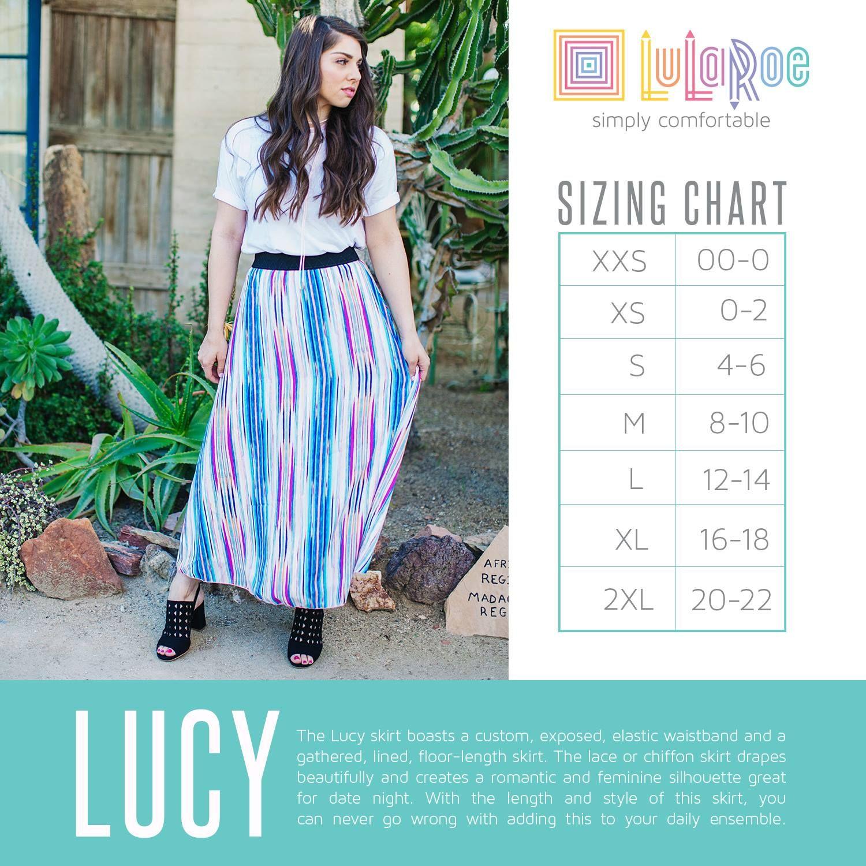 663be44e41c35 lularoe lucy size chart 2017
